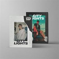 BAEK HYUN - City Lights + плакат